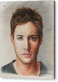 Dean Winchester / Jensen Ackles Acrylic Print
