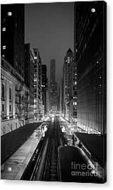Acrylic Print featuring the photograph Dear Chicago You're Beautiful by Peta Thames