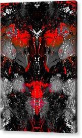 Death At Night Acrylic Print by Paul Gavin