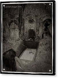 Death Becomes Her Acrylic Print by Kristie  Bonnewell