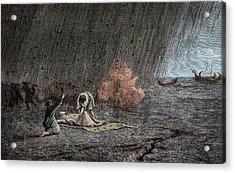 Death Of Pliny The Elder Acrylic Print