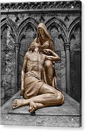 Death Of The Son Of God Acrylic Print by Lee Dos Santos