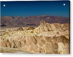 Death Valley Acrylic Print by Andreas Tauber
