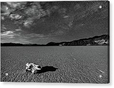 Death Valley By Moonlight Acrylic Print