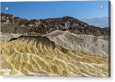 Death Valley Nationalpark - Zabriskie Acrylic Print