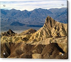 Death Valley Np Zabriskie Point 11 Acrylic Print