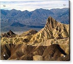Death Valley Np Zabriskie Point 11 Acrylic Print