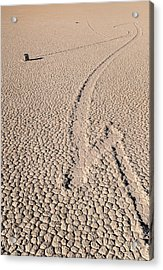 Death Valley Racetrack California Acrylic Print by Steve Gadomski