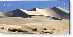 Death Valley Sand Dunes Acrylic Print