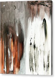 Acrylic Print featuring the painting Deathless by Christine Ricker Brandt