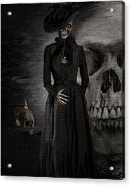 Deathly Grace Acrylic Print by Lourry Legarde