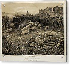 Debris-strewn Battlefield Acrylic Print