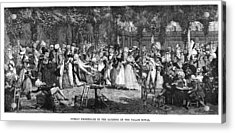 Debucourt Promenade, 1792 Acrylic Print by Granger