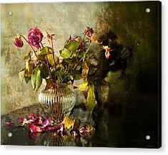 Decadence 1 Acrylic Print by Theresa Tahara