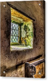 Decay Acrylic Print by Adrian Evans