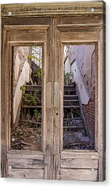 Decaying History Acrylic Print