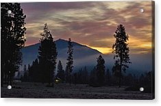 Acrylic Print featuring the photograph December Dawn by Julia Hassett