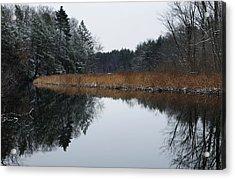 December Landscape Acrylic Print