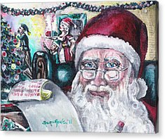 December Acrylic Print