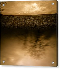 December Sky Acrylic Print by Bob Orsillo