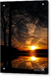 December Sunset Acrylic Print