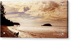 Acrylic Print featuring the photograph Deception Bay Washington by Artist and Photographer Laura Wrede