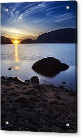 Deception Pass 3 Acrylic Print by Sonya Lang