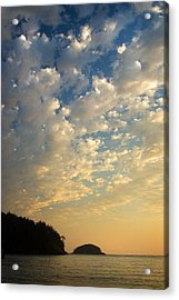 Acrylic Print featuring the photograph Deception Pass by Sonya Lang