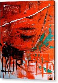Dechirure Acrylic Print by Laurend Doumba