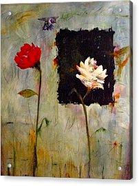 Decisiones Acrylic Print by Thelma Zambrano