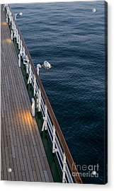 Deck Sea Acrylic Print