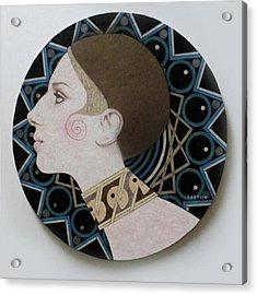 Deco Barbra Acrylic Print