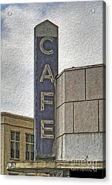 Deco Cafe - 01 Acrylic Print by Gregory Dyer