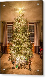 Acrylic Print featuring the photograph Decorated Christmas Tree by Alex Grichenko