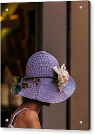 Decorated Hat Acrylic Print