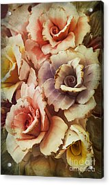 Decoration Flower Acrylic Print by Mohamed Elkhamisy