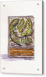 Decorative Accent Acrylic Print by Julie Maas