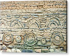 decorative architecture photographs - Korean Wall Acrylic Print