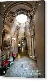Decorative Hall Acrylic Print by Adrian Evans