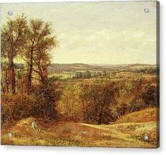 Dedham Vale, John Constable, 1776-1837 Acrylic Print by Litz Collection