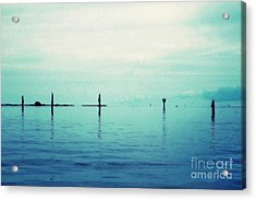 Deep Blue Bay Acrylic Print by Scott Allison