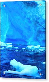 Acrylic Print featuring the photograph Deep Blue Iceberg by Amanda Stadther