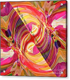 Acrylic Print featuring the digital art Deep Calls Unto Deep by Margie Chapman