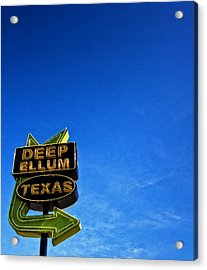 Deep Ellum Acrylic Print by Mark Alder