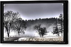 Deep Fog Over Marmo   Framed Acrylic Print