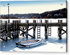 Deep Freeze Acrylic Print by Frank Savarese