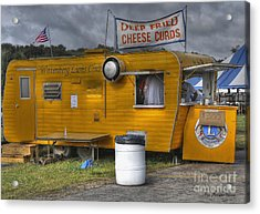 Acrylic Print featuring the photograph Deep Fried Cheese Curds by Trey Foerster