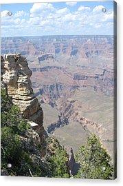 Deep Grand Canyon Acrylic Print by David Nichols
