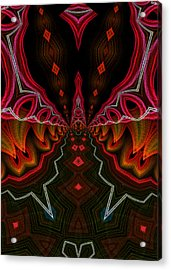 Acrylic Print featuring the digital art Deep In Thought by Owlspook