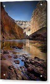 Deep Inside The Grand Canyon Acrylic Print by Ellen Heaverlo